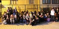 Şanlıurfa'da kız öğrenciler yurdu protesto etti