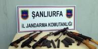 Sınır'da silah operasyonu