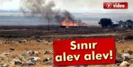 Suriye sınırı alev alev