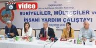 Suriyeli mülteciler çalıştayı yapıldı