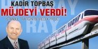 Topbaş'tan İstanbul'a Havaray müjdesi