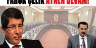 Urfa Bakanı Faruk Çelik devam ediyor