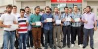 Urfa'dan Erdoğan'a bağış desteği