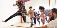 Urfalı çocukların Capoeira coşkusu