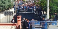 Viranşehir Adliyesi abluka altında