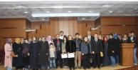 130 Kursiyer sertifika aldı