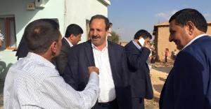 Özcan, Harran'a çıkarma yaptı