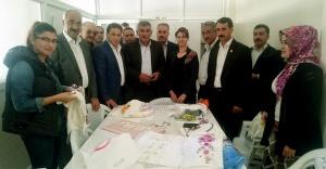 Hilvan Belediye Meclis Üyelerinden Kadın Kültür Merkezine Ziyaret