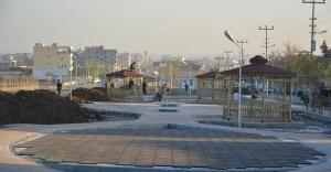 Ceylanpınar'ın girişine modern park yapılıyor