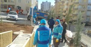 Eyyübiye Belediyesi Karaköprü'ye el attı