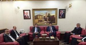 Milletvekili Yıldız, Vali Küçük'ü ziyaret etti