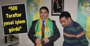 Spor Savcısı, Urfaspor taraftarlarını uyardı!