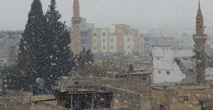 Urfa'ya ilk kar düştü