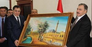 Bakan Eroğlu, Urfa'da konuştu...