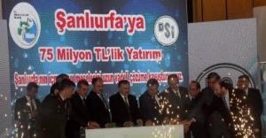 Eroğlu, Urfa'da 7 tesisi açtı
