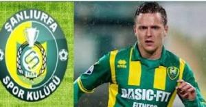 Urfa'ya Hollandalı Milli futbolcu