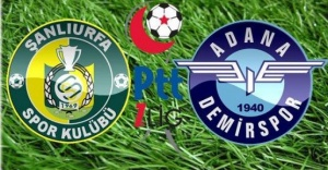 Adana Demirspor'dan Urfaspor'a kutlama