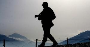 Suriye sınırında 1 asker şehit oldu