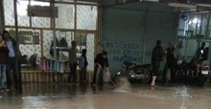 Viranşehir'i sel vurdu