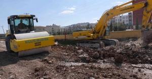 Haliliye'de yeni yollar hızla artıyor