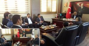 Şanlıurfa Baro Başkanından Hilvan Belediye Başkanına Ziyaret