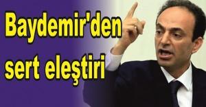 Baydemir: 'Bakanlıktan istifa ediyorum'...
