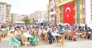 Binlerce kişi Ali Dede hayratında buluştu