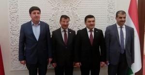 Tacikistan Büyükelçisi ile görüştüler...