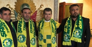Taraftarlardan Bucak'a ziyaret