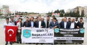 Urfa'da Kılıçdaroğlu'na tepki...