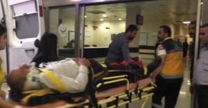 Urfa Havalimanı yolunda kaza