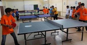 200 Gence masa tenisi eğitimi verildi