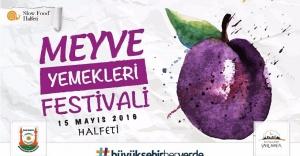 Halfeti'de meyve yemekleri festivali düzenleniyor