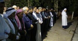 Urfa'da gıyabi cenaze namazı kıldı