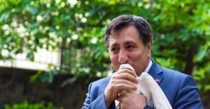 Urfa'da güvercin yarışması düzenleniyor