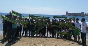 Urfaspor taraftarlarının tatil keyfi