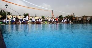 Yüzme havuzlarının sezonu açıldı