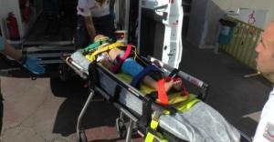 5 Yaşındaki çocuk balkondan düştü