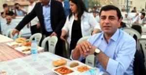 Demirtaş beklenen açıklamayı Urfada yaptı