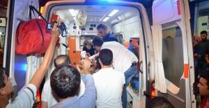 Urfa'da habere giden muhabir şoka uğradı!