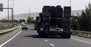 Urfa sınırına tank ve obüs sevkiyatı