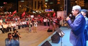 Demirkol: Bu meydanlarda Kürt yok, Arap yok, Türk yok