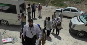 Kamplarda kalan Suriyeliler evlere taşınıyor