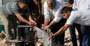 Kırsalda su sorunu tarihe karışıyor