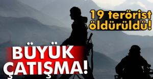 TSK: 19 terörist etkisiz hale getirildi