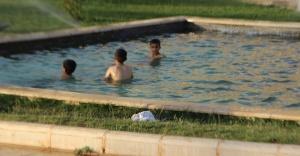 Urfa'da sıcaklar bunaltıyor