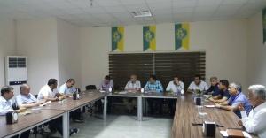 Urfaspor da görev dağılımı yapıldı