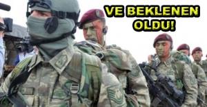 Bordo Bereliler Suriye'ye girdi