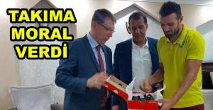 Büyükhatipoğlu'ndan MSK Urfa'ya jest…