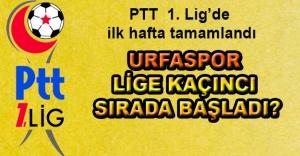 İşte PTT 1. Lig'de ilk haftanın lideri…